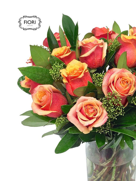 Luxury Two Dozen Rose in a Vase