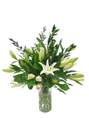 Lily Handtied Bouquet in a Vase