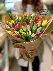 Tulip Bouquet. Order and send flowers online for every occasion delivery in Oakville, Burlington, Mississauga, Milton, Etobicoke, Toronto and Hamilton Greater area. Full service flower store voted best florist.