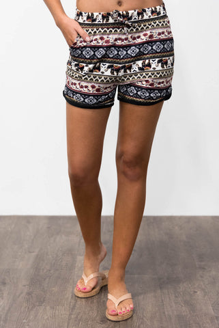 Islander Shorts in Elephant