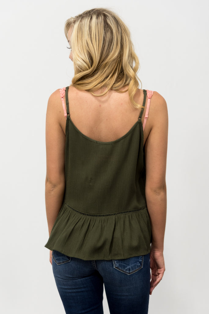 Arizona Top in Olive
