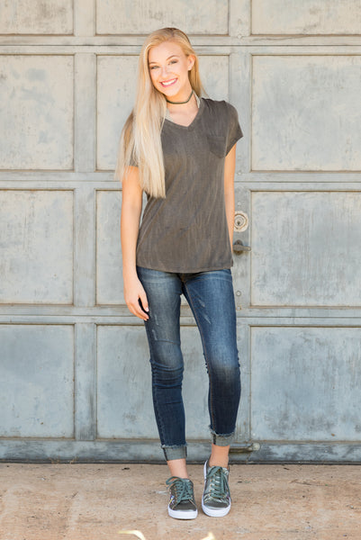 In the Valley Top in Grey