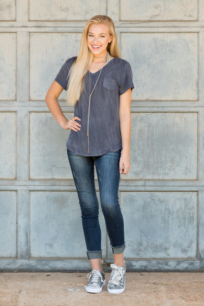 In the Valley Top in Navy