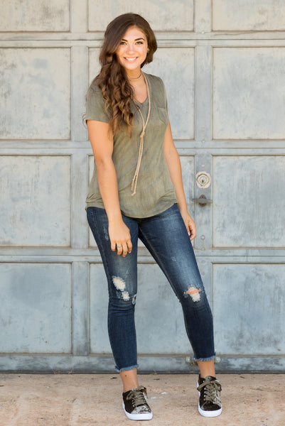 In the Valley Top in Olive