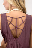 Break Free Top in Wine
