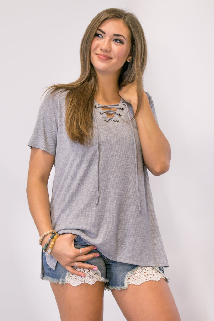 **SALE** Metro Top in Grey