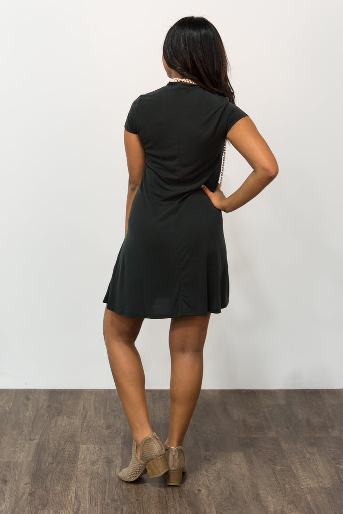 Take a Stroll Dress in Black