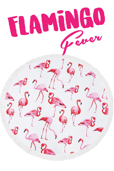 Roundie in Flamingo Fever