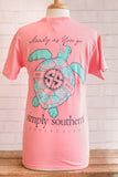 Simply Southern Short Sleeve in Turtle