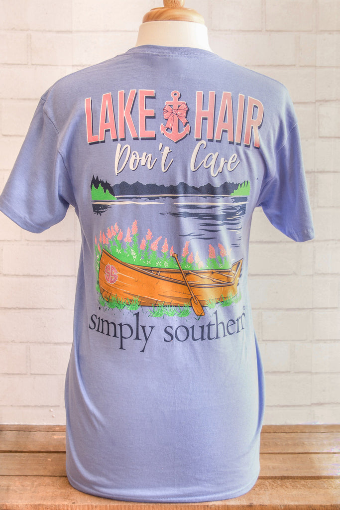 Simply Southern Short Sleeve in Lake Hair