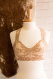 Luxury of Lace Bralette in Nude