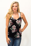 Velvet Dreams Tank in Black