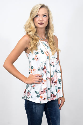 Fashionably Floral Top