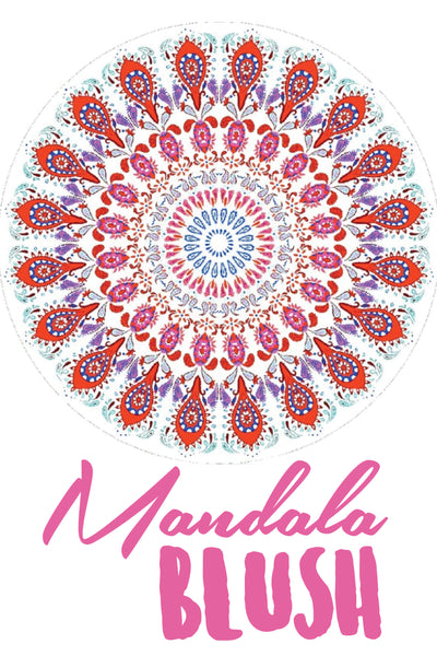 Roundie in Mandala Blush