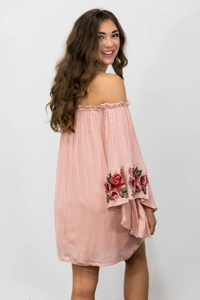 August Air Dress in Rose