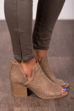 Cut Out for This Booties