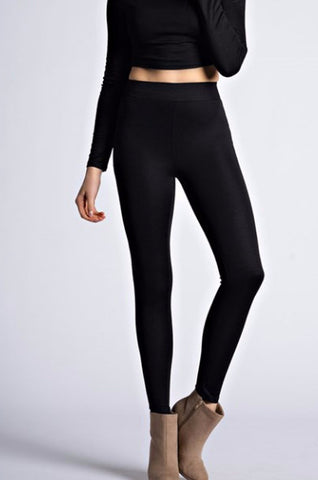 Overnight Black Leggings