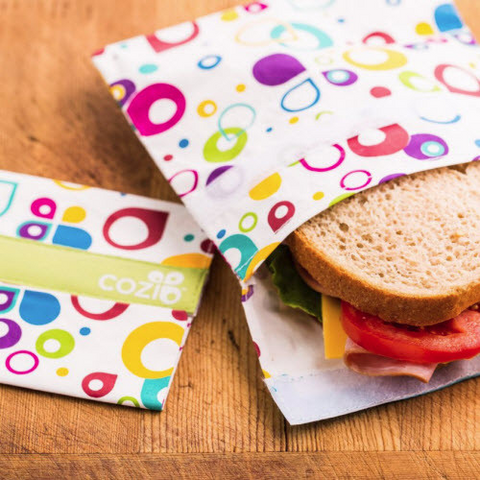 Free with Cozi: Re-uzie Sandwich Bag