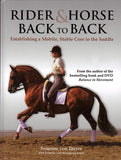 Rider and Horse Back to Back: Establishing a Mobile, Stable Core in the Saddle by Susanne von Dietze