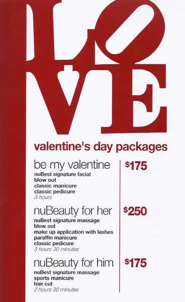 valentine's day packages #love | nubest salon, Ideas