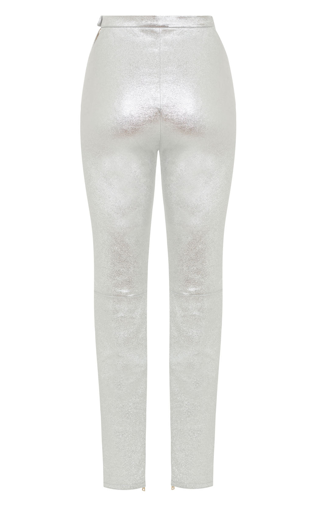 silver trousers womens | silver skinny jeans womens | skinny leather trousers women