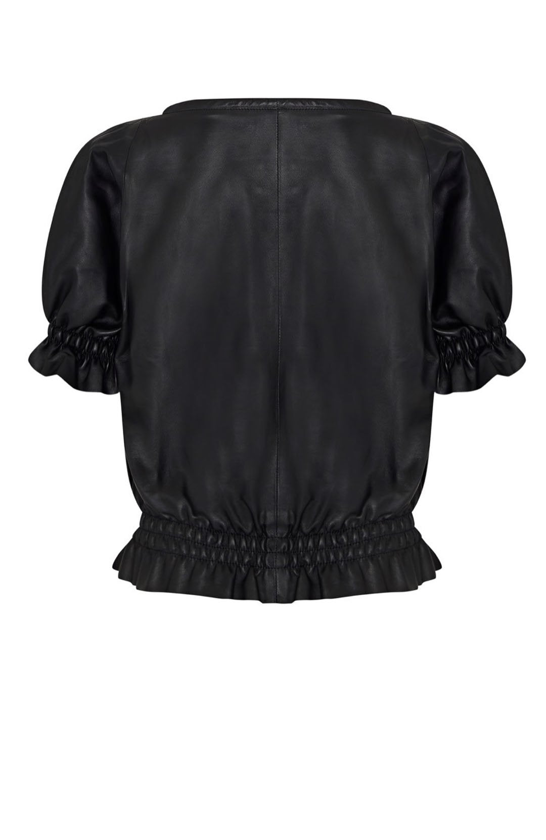 LEATHER GYPSY TOP