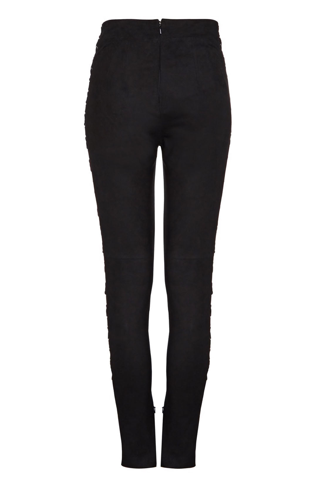 SUEDE LACE-UP LEGGING
