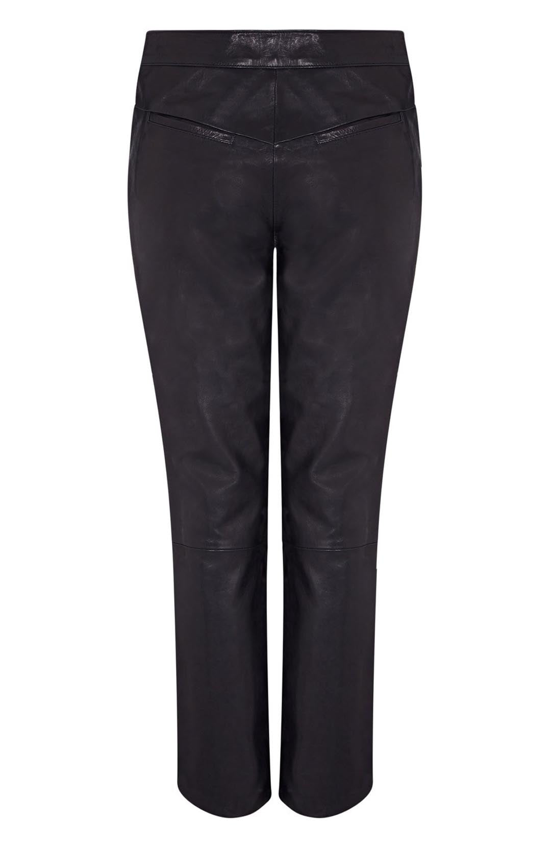 womens cropped leather pant | cropped leather pant | leather cropped pants