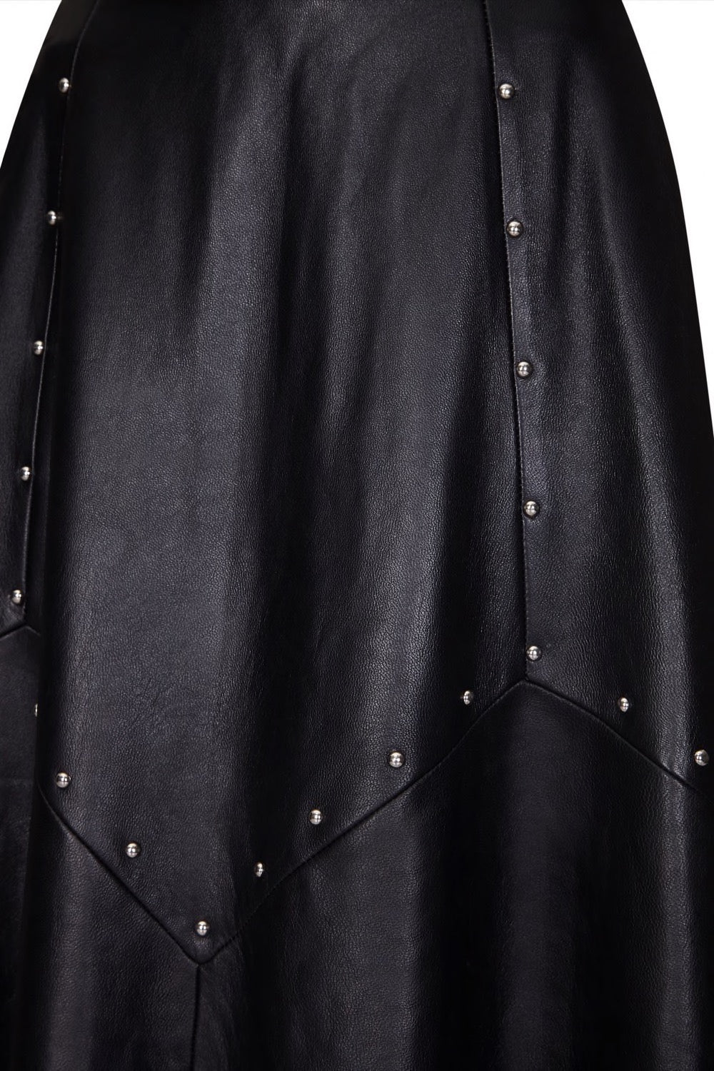 studded leather Maxi | Black leather skirt | Leather skirt | Pencil Skirt | Black Pencil Skirt | Maxi Skirt | Maxi