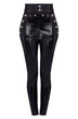 Load image into Gallery viewer, high waist leather pants women | patent leather pants | patent leather pants womens