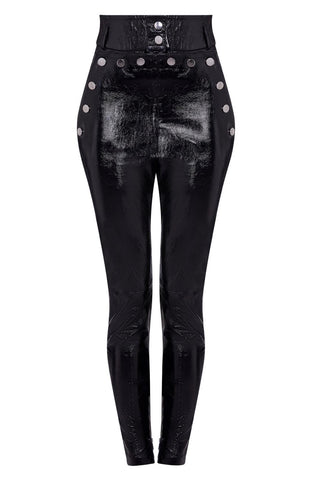 high waist leather pants women | patent leather pants | patent leather pants womens