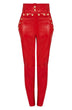 Load image into Gallery viewer, patent leather pants | patent leather pants womens | high waist leather pants women