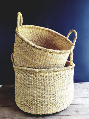 3 Sizes, Round Storage Baskets