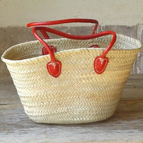 Red Handled Market Purse