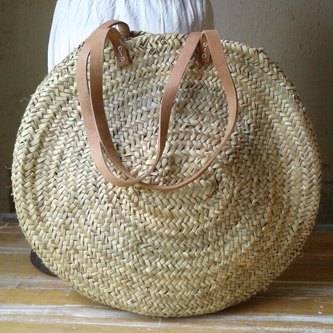 Summer Round Basket