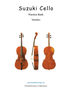 Cello Practice Book