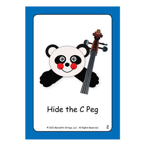 Cello Posture Cards