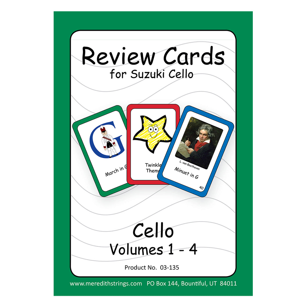 Cello Review Cards