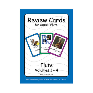 Flute Review Cards