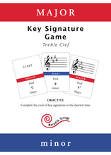 Load image into Gallery viewer, Major Minor: Key Signature Game