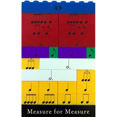 Measure for Measure Rhythm and Counting Bricks