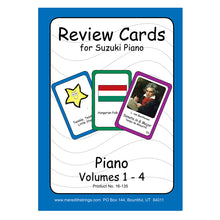 Load image into Gallery viewer, Piano Review Cards
