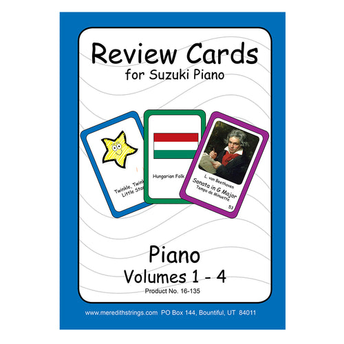 Piano Review Cards