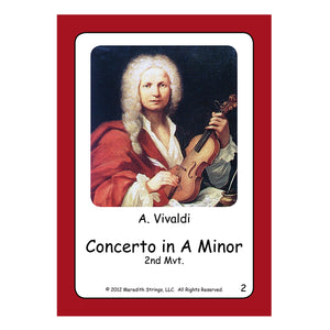 Violin Review Cards - Volumes 5-10