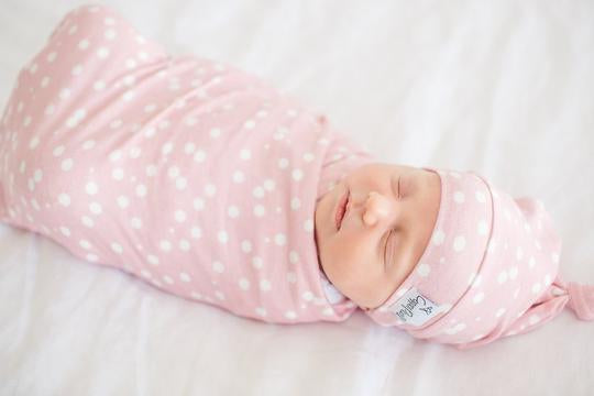 Knit Swaddle - Lucy