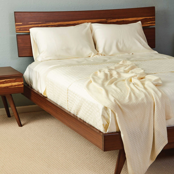 Bamboo Bed Sheets              Ivory