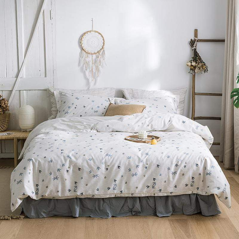 Horsham Floral Summer Season Ultra Soft Bedding Set