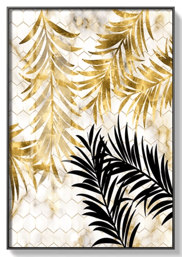 Golden Leaf Canvas painting