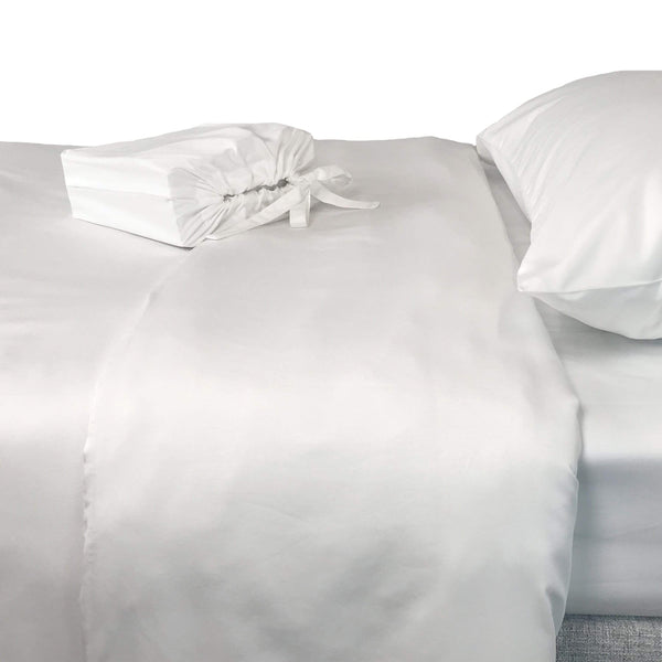 eco-mélange™ Bamboo Cotton Duvet Covers Snow