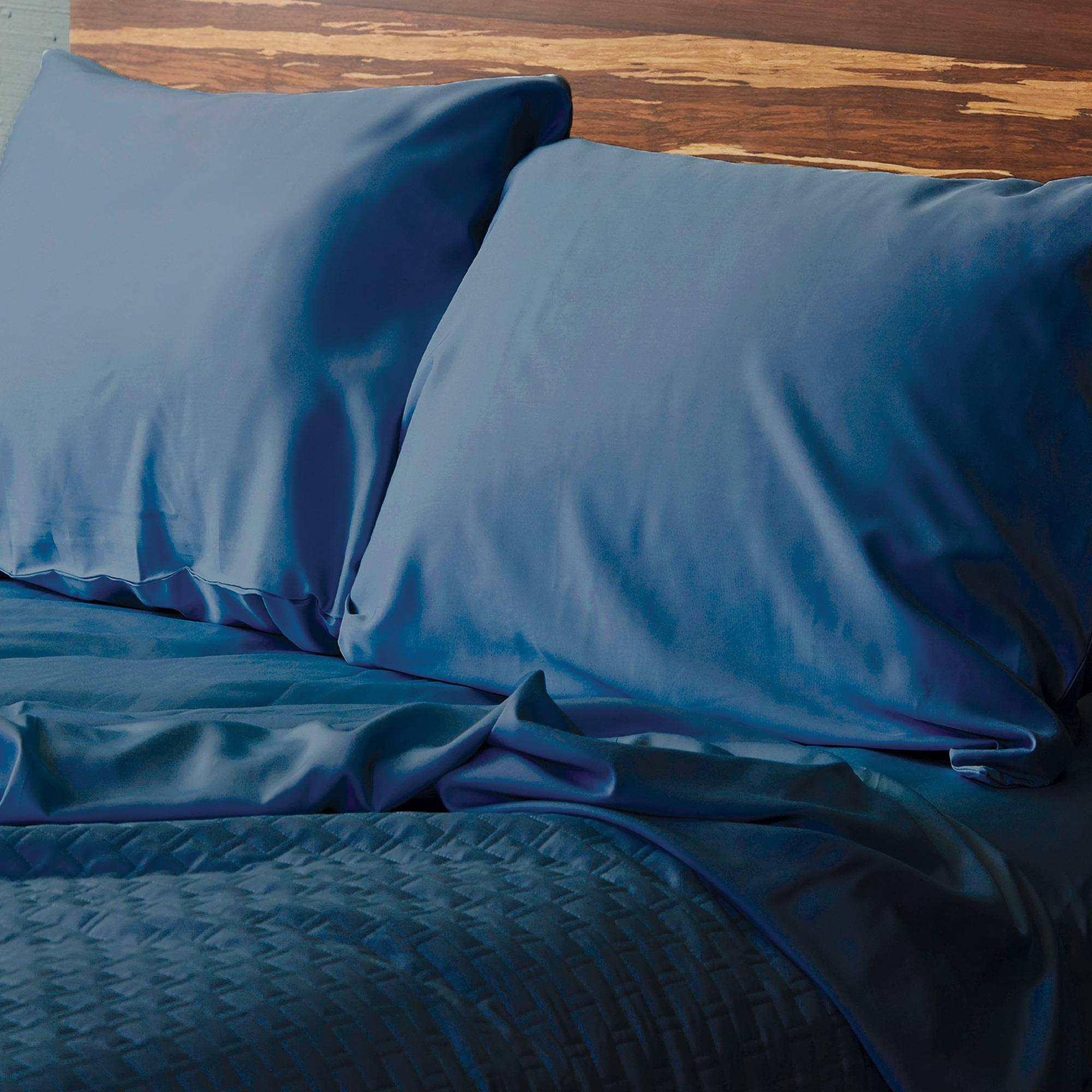 Bamboo Pillowcase Set Indigo